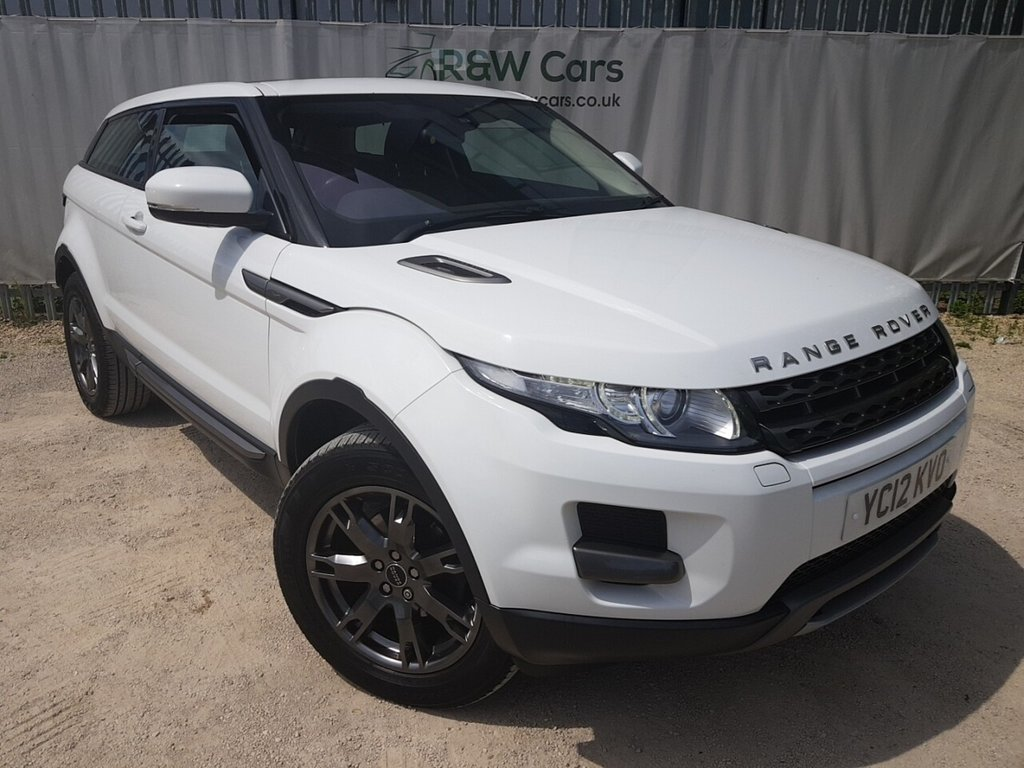 USED 2012 12 LAND ROVER RANGE ROVER EVOQUE 2.2 TD4 PURE 3d 150 BHP