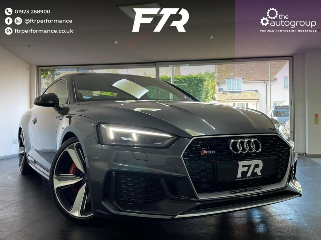 USED 2018 67 AUDI A5 2.9 RS 5 TFSI QUATTRO CARBON EDITION 2d 444 BHP