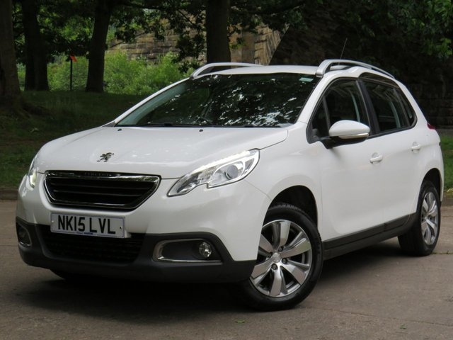 USED 2015 15 PEUGEOT 2008 1.2 ACTIVE 5d 82 BHP