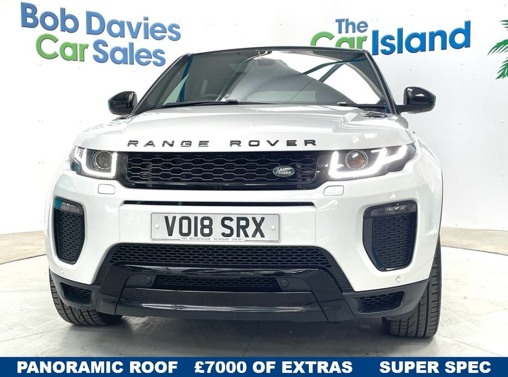 USED 2018 18 LAND ROVER RANGE ROVER EVOQUE 2.0 TD4 HSE DYNAMIC 5d 177 BHP Panoramic Roof, Black Pack, SATNAV Leather 29000 miles