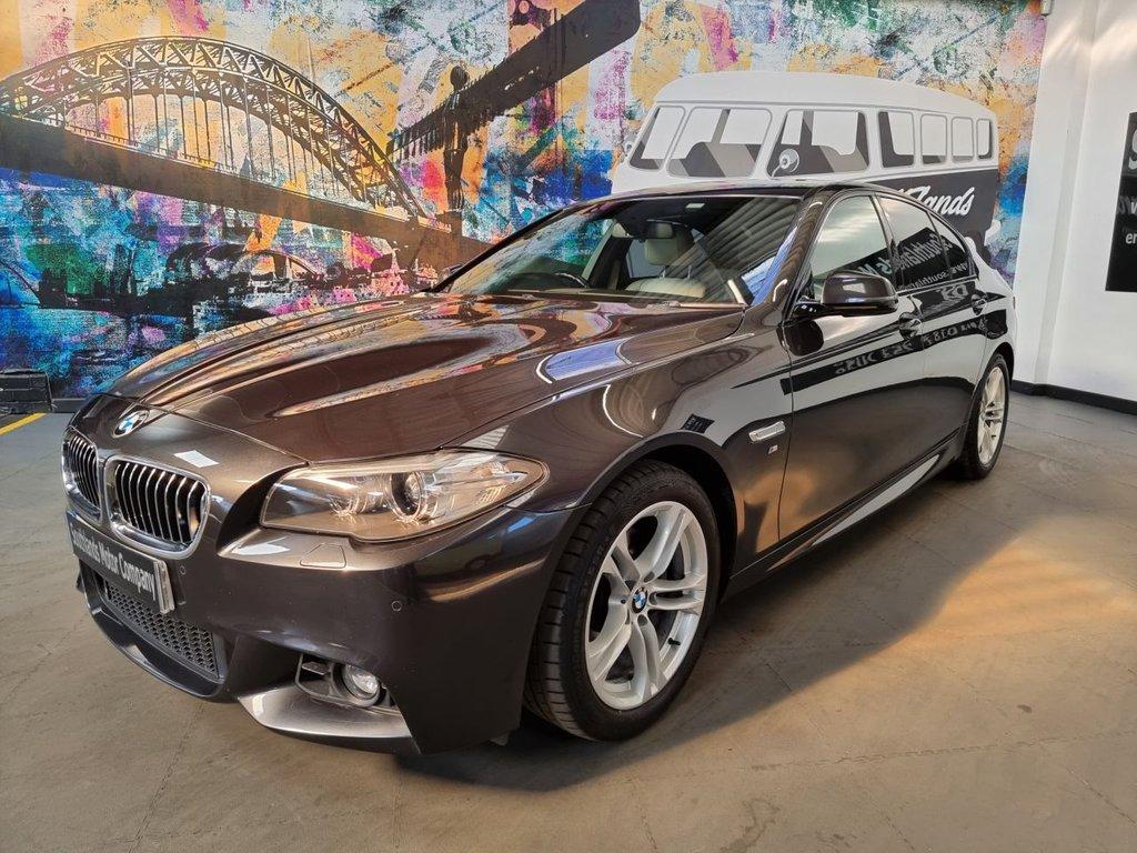 USED 2014 63 BMW 5 SERIES 2.0 520D M SPORT 4d 181 BHP
