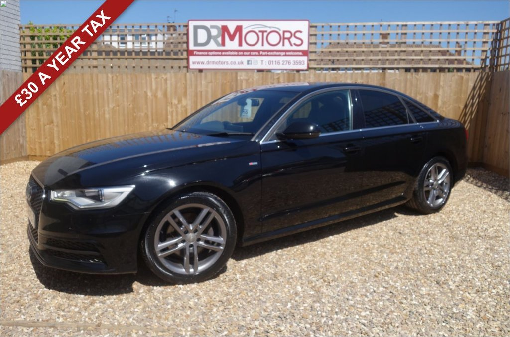 USED 2014 64 AUDI A6 2.0 TDI ULTRA S LINE 4d 188 BHP *** 6 MONTHS NATIONWIDE GOLD WARRANTY ***