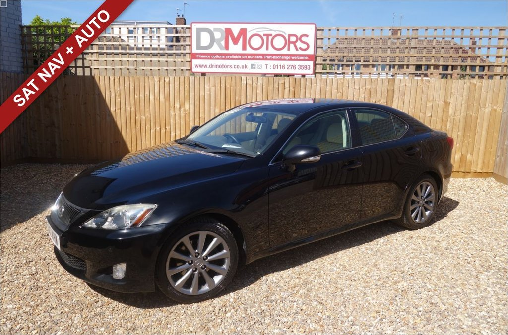 USED 2010 10 LEXUS IS 2.5 250 SE-I 4d 204 BHP *** 6 MONTHS NATIONWIDE GOLD WARRANTY ***