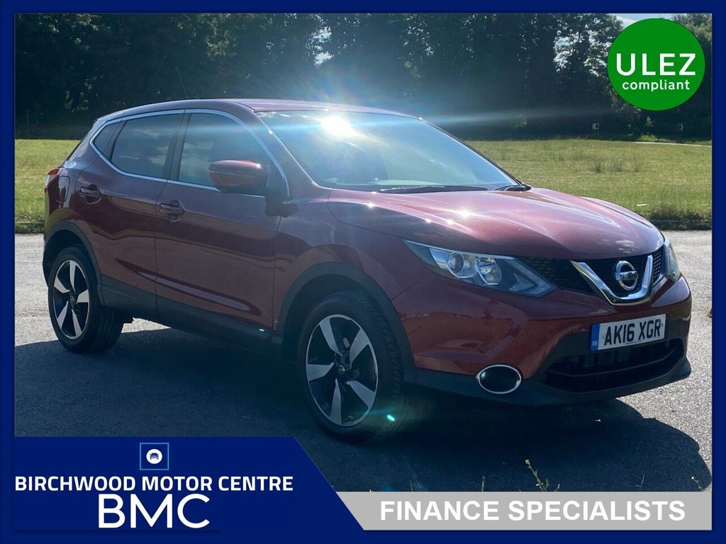 USED 2016 16 NISSAN QASHQAI 1.2 N-CONNECTA DIG-T XTRONIC 5d 113 BHP. FULL SERVICE HISTORY!!!!!