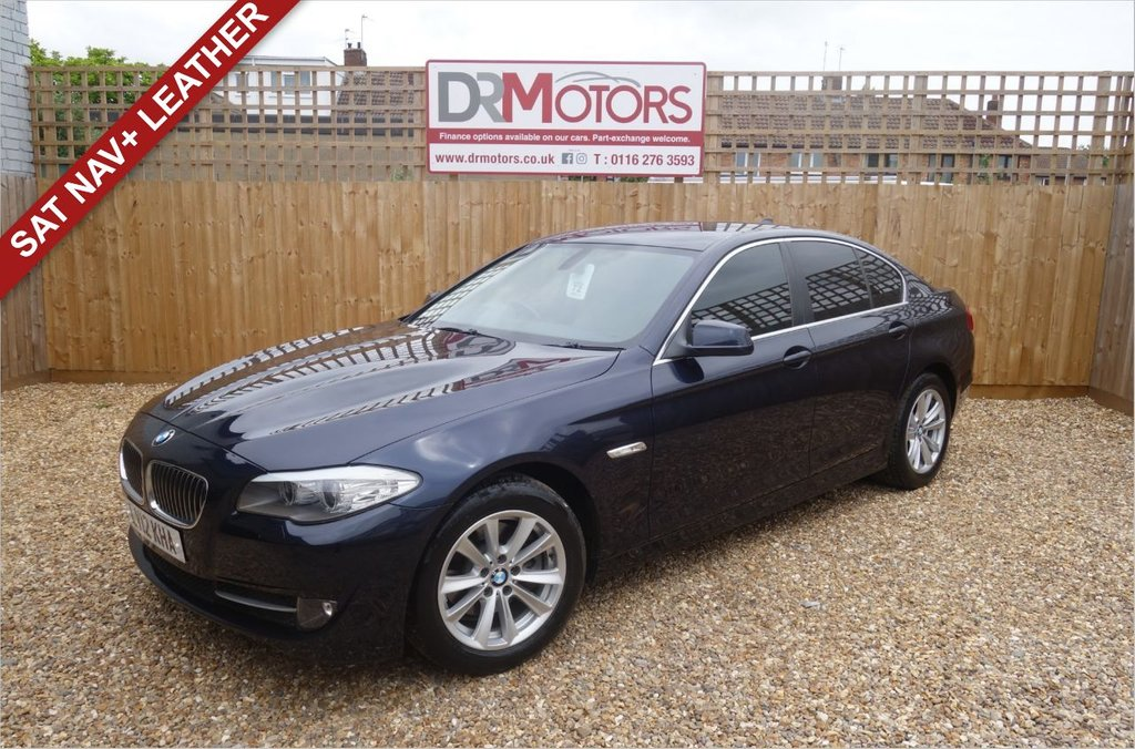 USED 2012 12 BMW 5 SERIES 2.0 520D SE 4d 181 BHP *** 6 MONTHS NATIONWIDE GOLD WARRANTY ***