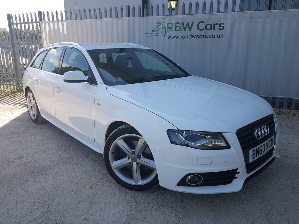 USED 2010 60 AUDI A4 2.0 AVANT TDI S LINE SPECIAL EDITION 5d 141 BHP