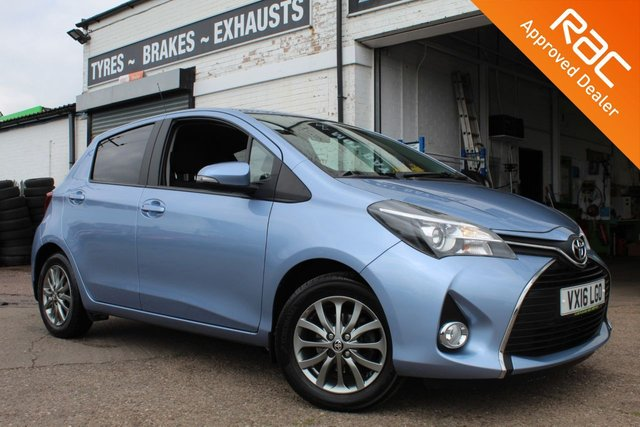 USED 2016 16 TOYOTA YARIS 1.3 VVT-I ICON 5d 99 BHP VIEW AND RESERVE ONLINE OR CALL 01527-853940 FOR MORE INFO.
