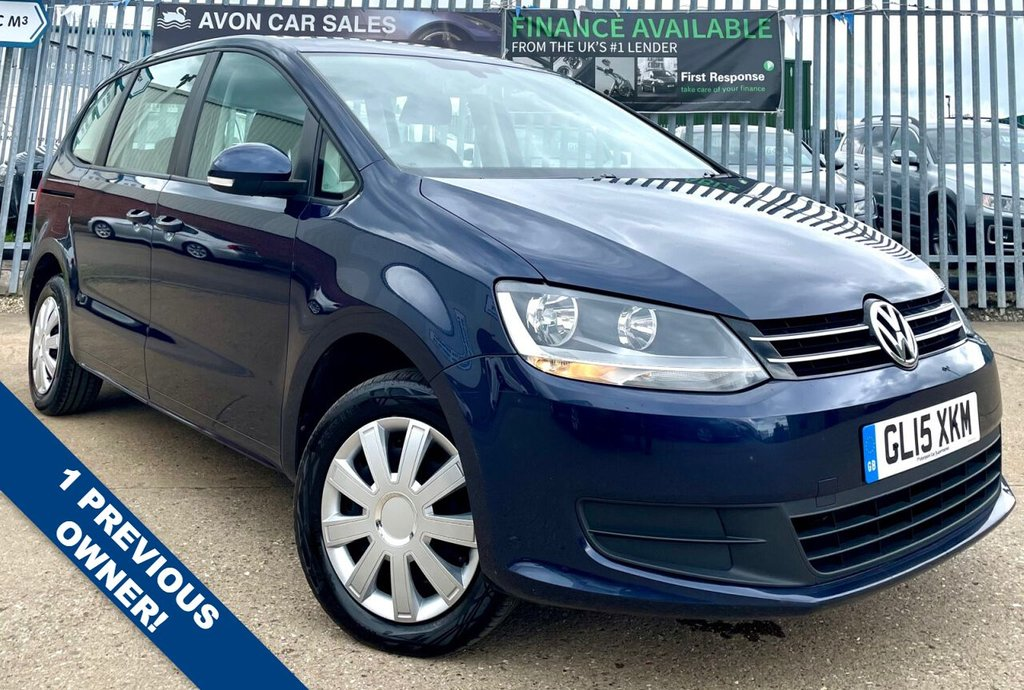 USED 2015 15 VOLKSWAGEN SHARAN 2.0 S TDI DSG AUTOMATIC 5d 142 BHP! - 1 PREVIOUS OWNER!