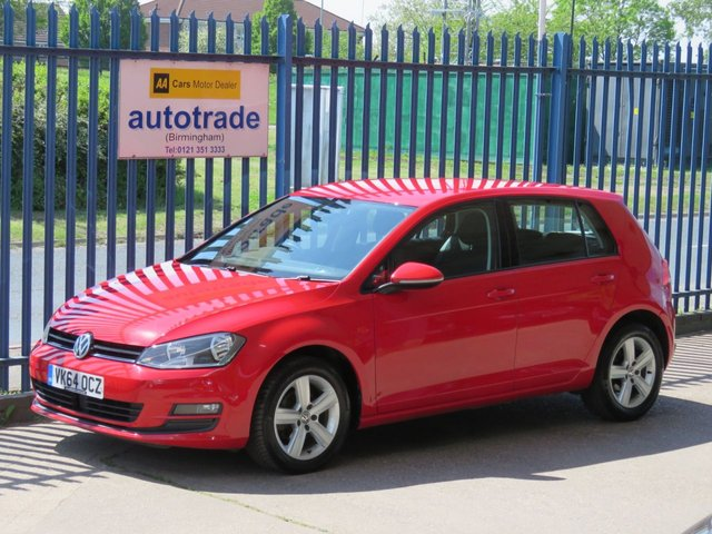 USED 2015 64 VOLKSWAGEN GOLF 1.6 MATCH TDI BLUEMOTION TECHNOLOGY 5dr 103 DAB-Front and Rear Parking Sensors-Cruise-Alloys-Bluetooth & CD FRONT AND REAR PARK ASSIST-DAB-ALLOYS-ACC CRUISE-AIR CON-ALLOYS-CD