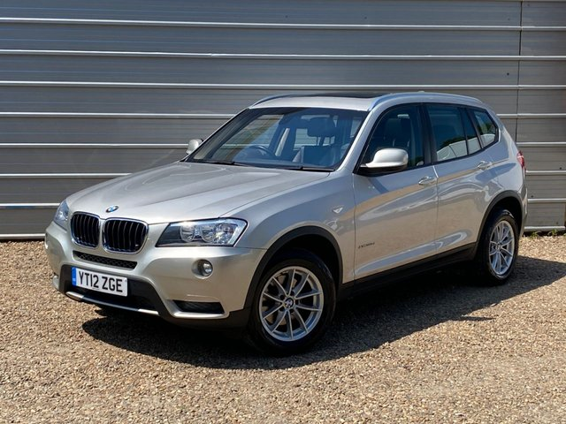 USED 2012 12 BMW X3 2.0 XDRIVE20D SE 5d 181 BHP Over £4000 of Options Pan Roof