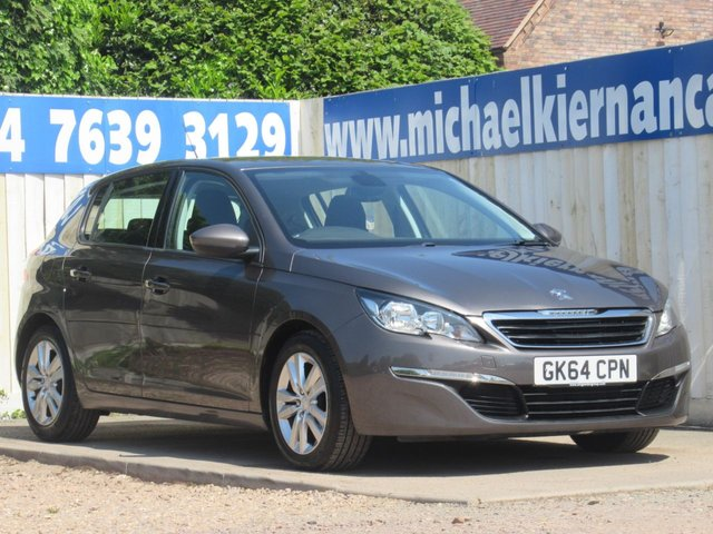 USED 2014 64 PEUGEOT 308 1.6 HDI ACTIVE 5d 92 BHP GREAT VALUE