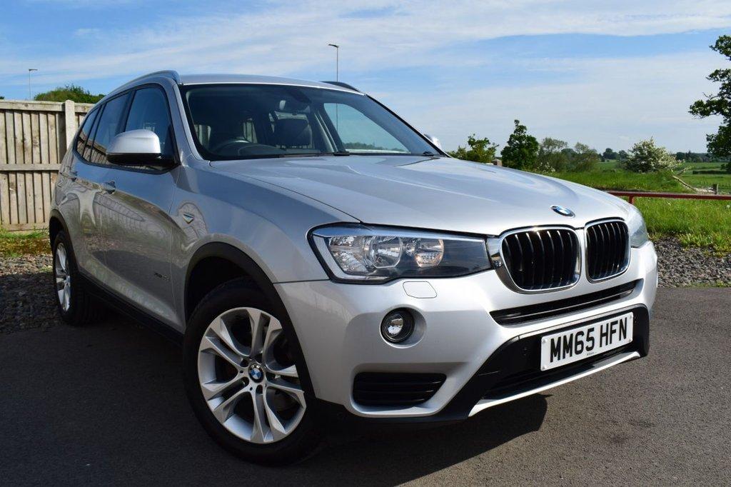 USED 2015 65 BMW X3 2.0 XDRIVE20D SE 5d 188 BHP