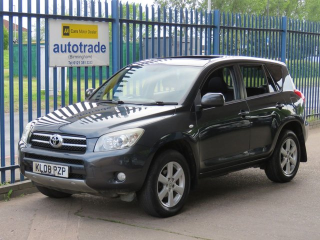 USED 2008 08 TOYOTA RAV4 2.0 VVTI XTR 5dr 150 Sunroof-Air conditioning-Cruise-Privacy glass-Fogs Electric Sunroof-Privacy Glass-Air con-Alloys-Fogs-Sunroof-C/D-4x4