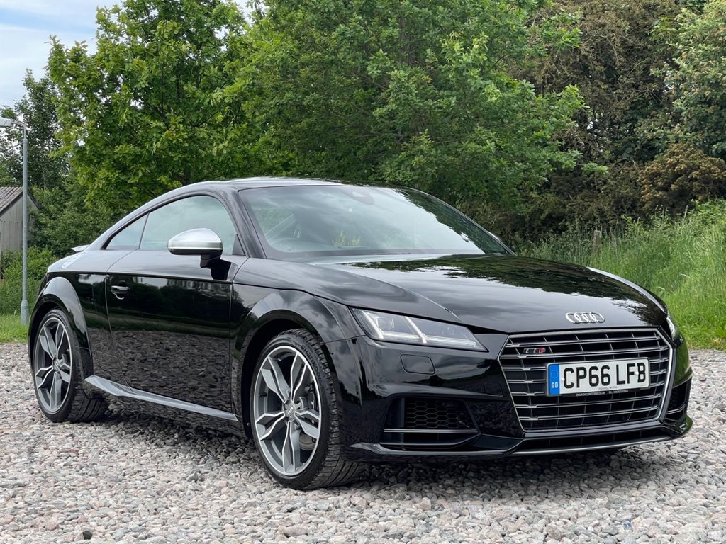 USED 2016 66 AUDI TT 2.0 TTS TFSI QUATTRO 2d 306 BHP Free Next Day Nationwide Delivery