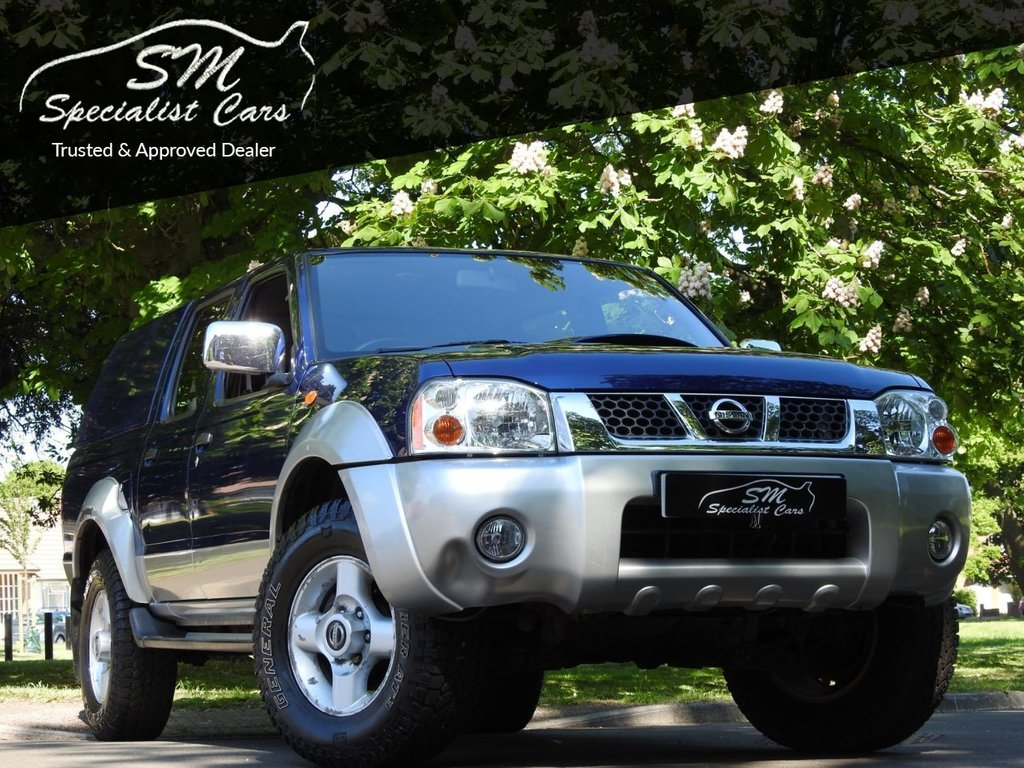 USED 2003 53 NISSAN NAVARA 2.5 NAVARA DOUBLE CAB TD 1 OWNER ONLY 10K FROM NEW VGC