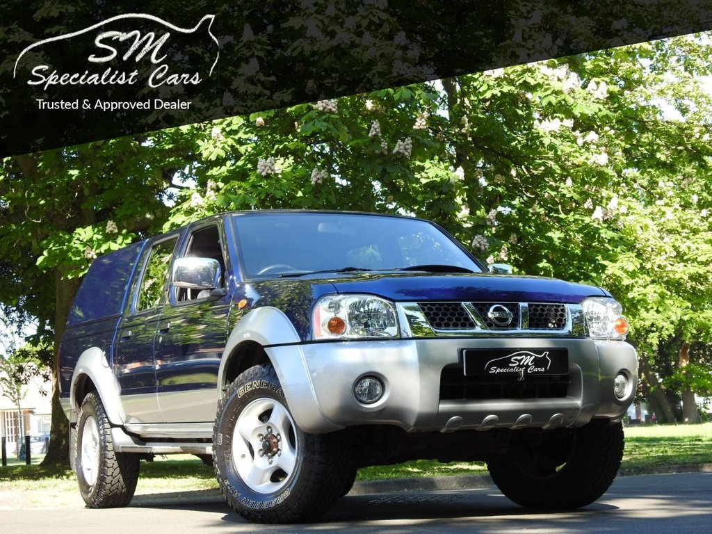 USED 2004 53 NISSAN NAVARA 2.5 NAVARA DOUBLE CAB TD 1 OWNER ONLY 17K FROM NEW VGC