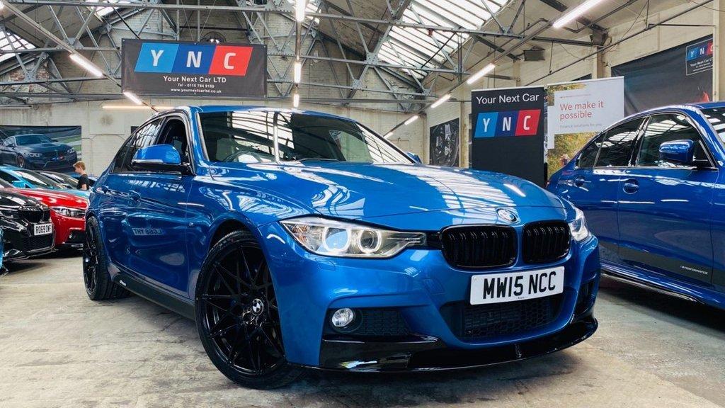 USED 2015 15 BMW 3 SERIES 2.0 320d BluePerformance M Sport (s/s) 4dr PERFORMANCEKIT+20S+PLUSPACK