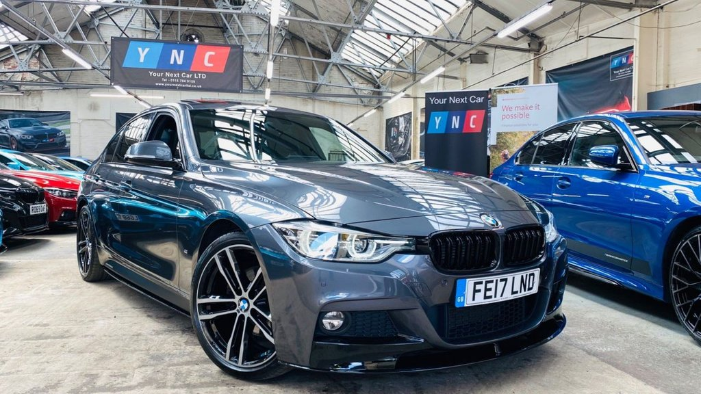 USED 2017 17 BMW 3 SERIES 2.0 330e 7.6kWh M Sport Auto (s/s) 4dr PERFORMANCEKIT+SROOF+19S