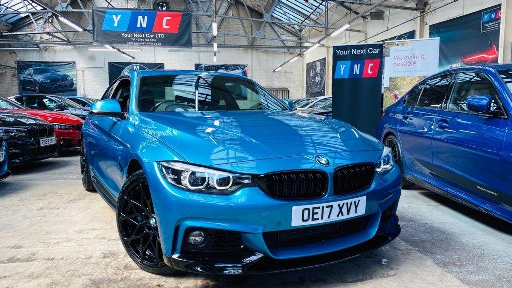 USED 2017 17 BMW 4 SERIES 3.0 435d M Sport Auto xDrive 2dr PERFORMANCEKIT+HUGESPEC+WOW