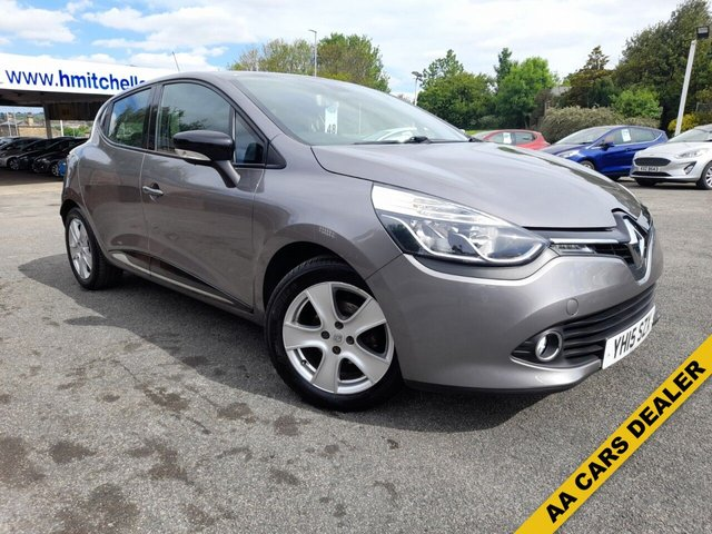 USED 2015 15 RENAULT CLIO 0.9 DYNAMIQUE MEDIANAV ENERGY TCE S/S 5d 90 BHP