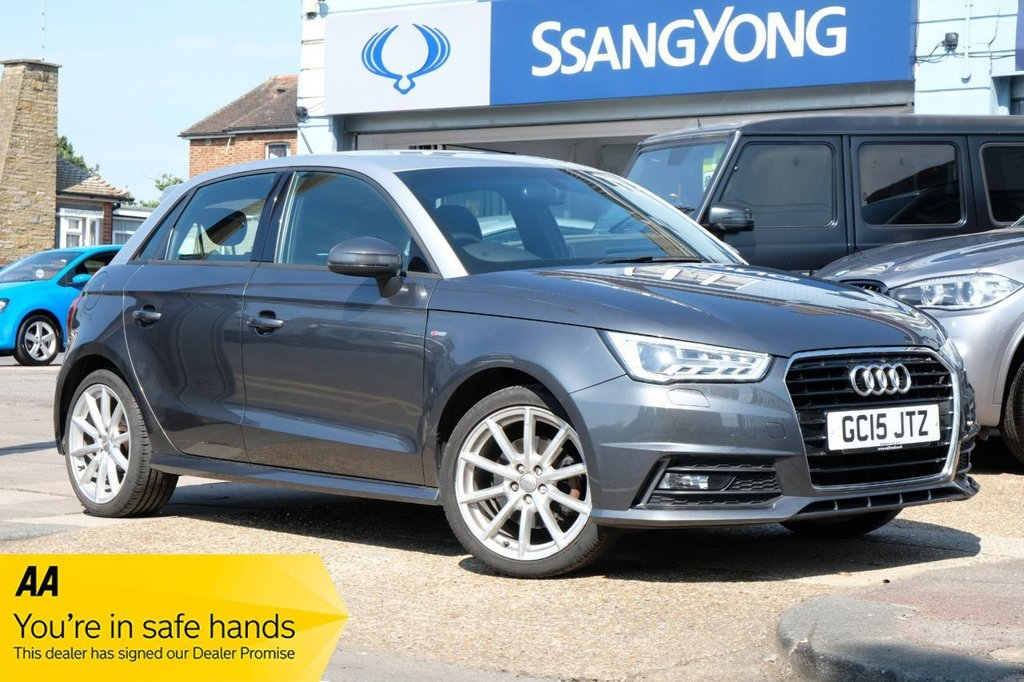 USED 2015 15 AUDI A1 1.4 SPORTBACK TFSI S LINE 5d 123 BHP AVAILABLE FOR £265 PER MONTH £0 DEPOSIT