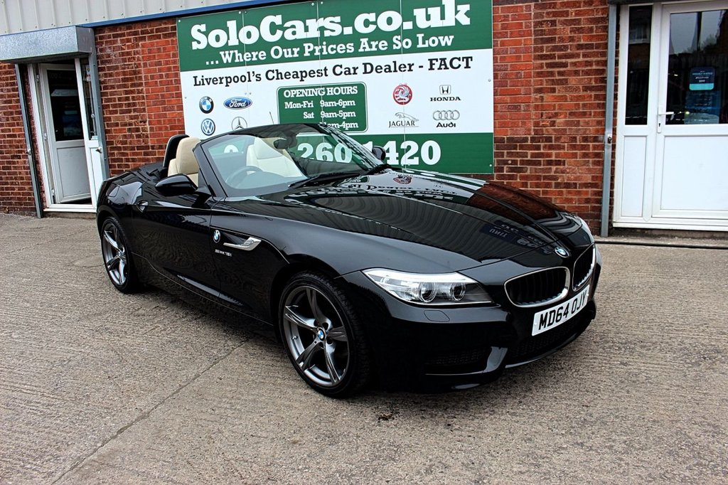 USED 2015 BMW Z4 18i sDrive M Sport 2dr +ONE OWNER FROM NEW +SERVICED.