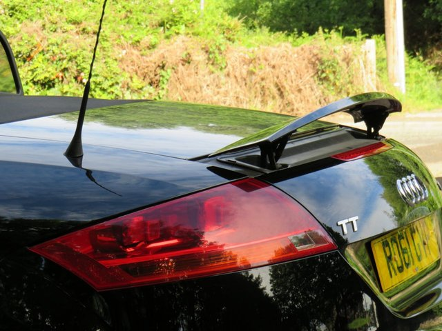 USED 2011 61 AUDI TT 1.8 TFSI 2d 160 BHP
