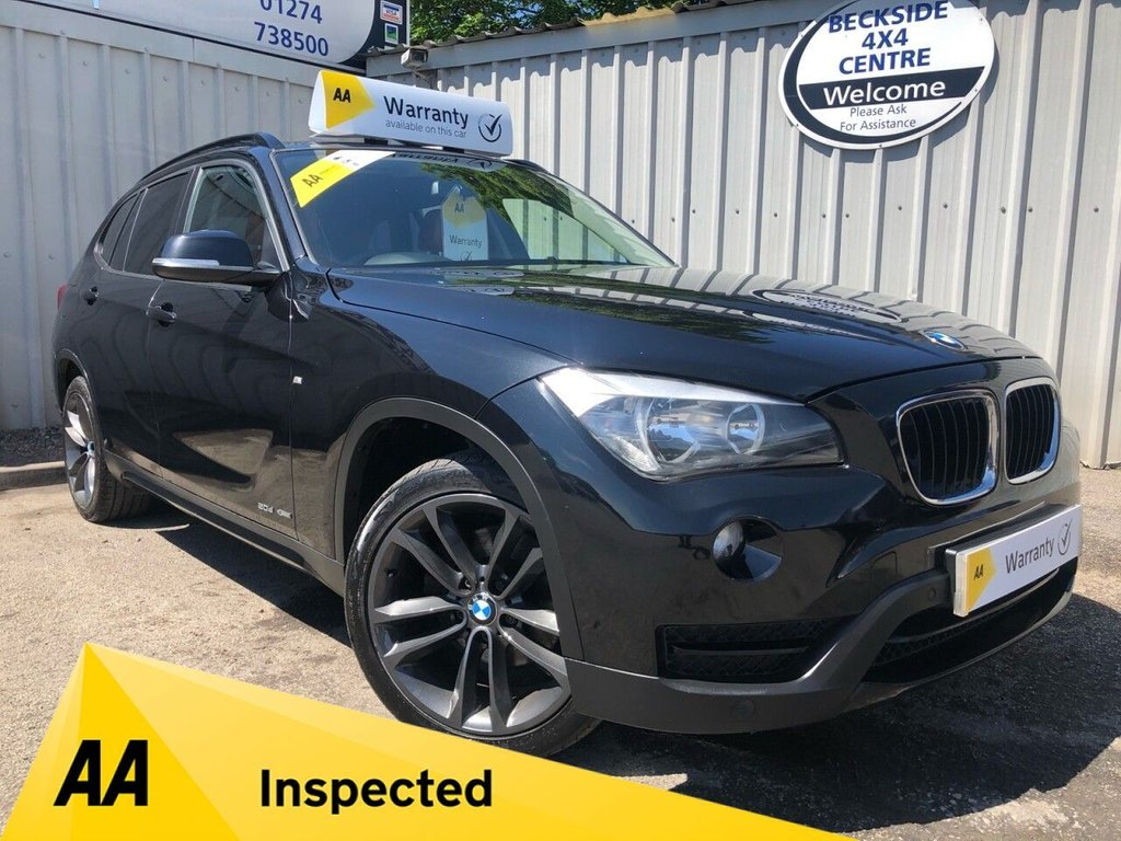 USED 2012 12 BMW X1 2.0 XDRIVE20D SPORT 5d 181 BHP AA INSPECTED. FINANCE. WARRANTY. 7 SEATER. LOW MILEAGE. MANY EXTRAS