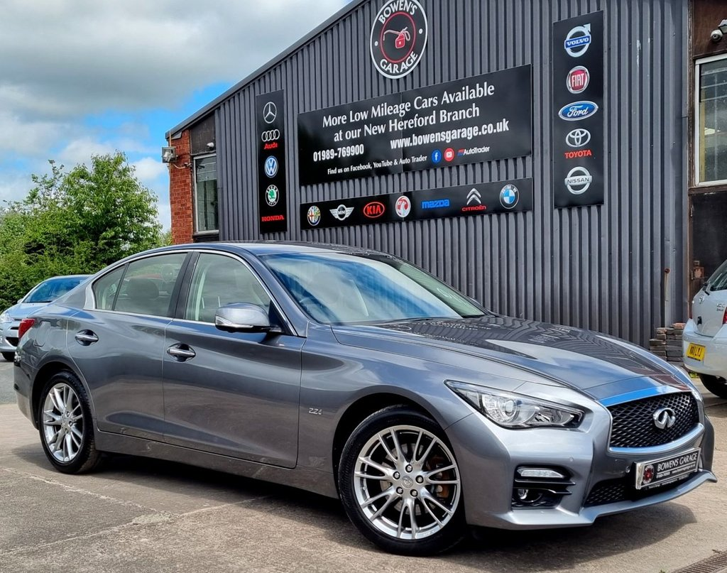 USED 2018 18 INFINITI Q50 2.1 SPORT EXECUTIVE D 4D AUTO 168 BHP 2 Owners - Low Miles - 3 Services - Big Spec