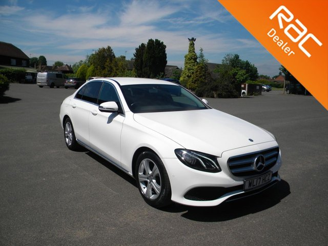 USED 2017 17 MERCEDES-BENZ E-CLASS 2.0 E 220 D SE 4d 192 BHP BY APPOINTMENT ONLY - Only £20 A Year To Tax! Sat Nav, Reversing Camera, Full Leather, Heated front Seats, Alloy Wheels, DAB