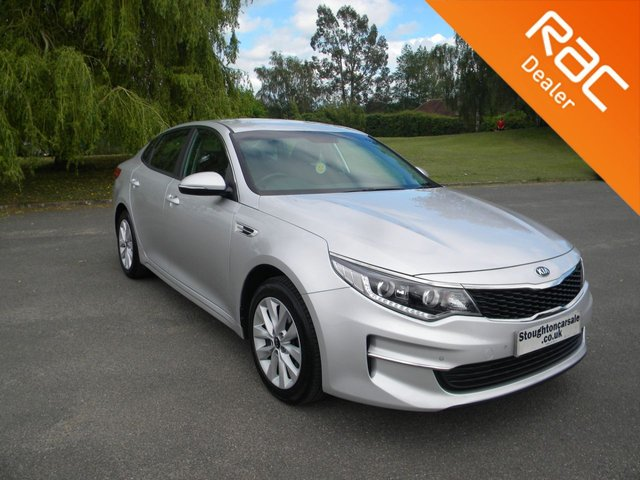 USED 2018 18 KIA OPTIMA 1.7 CRDI 2 ISG 4d 139 BHP BY APPOINTMENT ONLY - Still Under Kia Warranty, Reversing Camera, Alloy Wheels, Air Con, Cruise Control, DAB