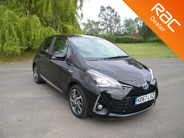 USED 2018 67 TOYOTA YARIS 1.5 VVT-I EXCEL 5d 73 BHP BY APPOINTMENT ONLY - Still Under Toyota Warranty,  Alloy Wheels, Cruise Control, Rear Parking Camera, Sat Nav, Touch Screen Display