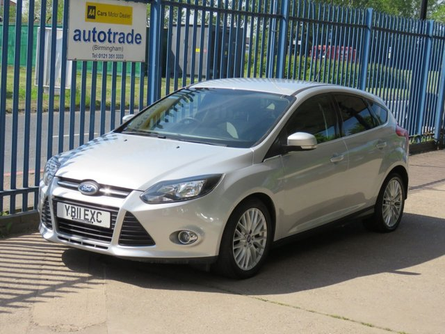 USED 2011 11 FORD FOCUS 1.6 ZETEC TDCI 5dr 113 DAB-Privacy glass-Park sensors-Alloys Finance arranged Part exchange available Open 7 days