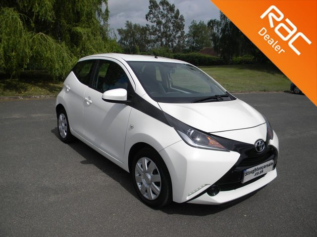 USED 2016 16 TOYOTA AYGO 1.0 VVT-I X-PLAY 5d 69 BHP BY APPOINTMENT ONLY - Free To Tax, Low Mileage, Bluetooth, DAB, Air Con