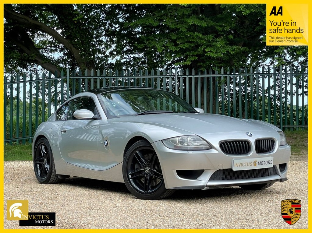 USED 2007 07 BMW Z4 3.2 Z4 M COUPE 2d 338 BHP **FULL DEALER/SPECIALIST SERVICE HISTORY+OVER £10,000 IN FACTORY OPTIONAL EXTRAS+CARBON INTERIOR TRIM+CRUISE CONTROL+SAT NAV+PROFESSIONAL HIFI SYSTEM**