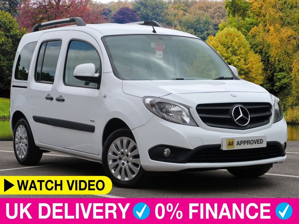 USED 2015 15 MERCEDES-BENZ CITAN 1.5 CDi 111 Traveliner Long L3 5 Seat 5dr Air Con Air Con Twin Sliding Doors