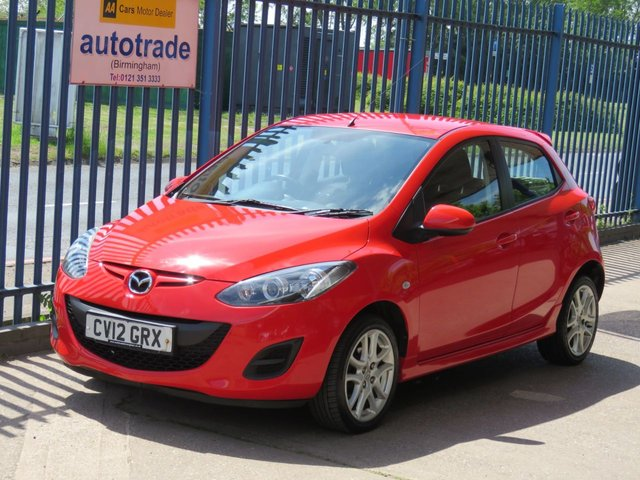 USED 2012 12 MAZDA 2 1.3 TAMURA 5dr 83 Air conditioning-Alloys-Electric Windows-Power Folding Door Mirrors Finance arranged Part exchange available Open 7 days
