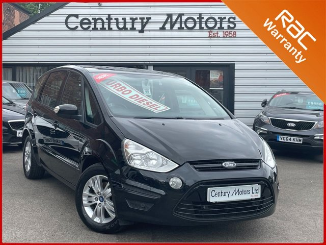 2012 62 FORD S-MAX 1.6 TDCi Zetec (7 Seats) 5dr - PANORAMIC ROOF