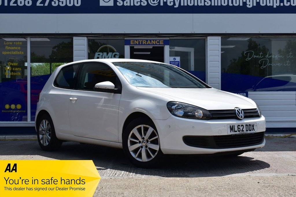 USED 2012 62 VOLKSWAGEN GOLF 1.4 MATCH TSI 3d 121 BHP FINANCE FROM £160 PER MONTH