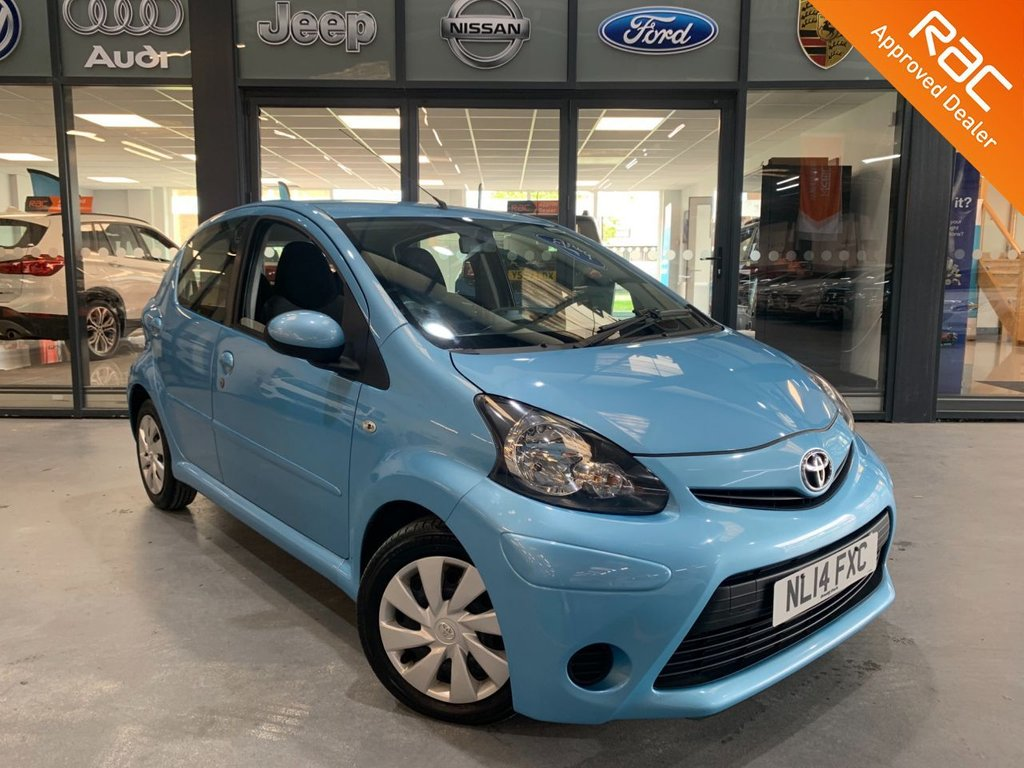 USED 2014 14 TOYOTA AYGO 1.0 VVT-I MOVE 5d 68 BHP Complementary 12 Months RAC Warranty and 12 Months RAC Breakdown Cover Also Receive a Full MOT With All Advisory Work Completed, Fresh Engine Service and RAC Multipoint Check Before Collection/Delivery