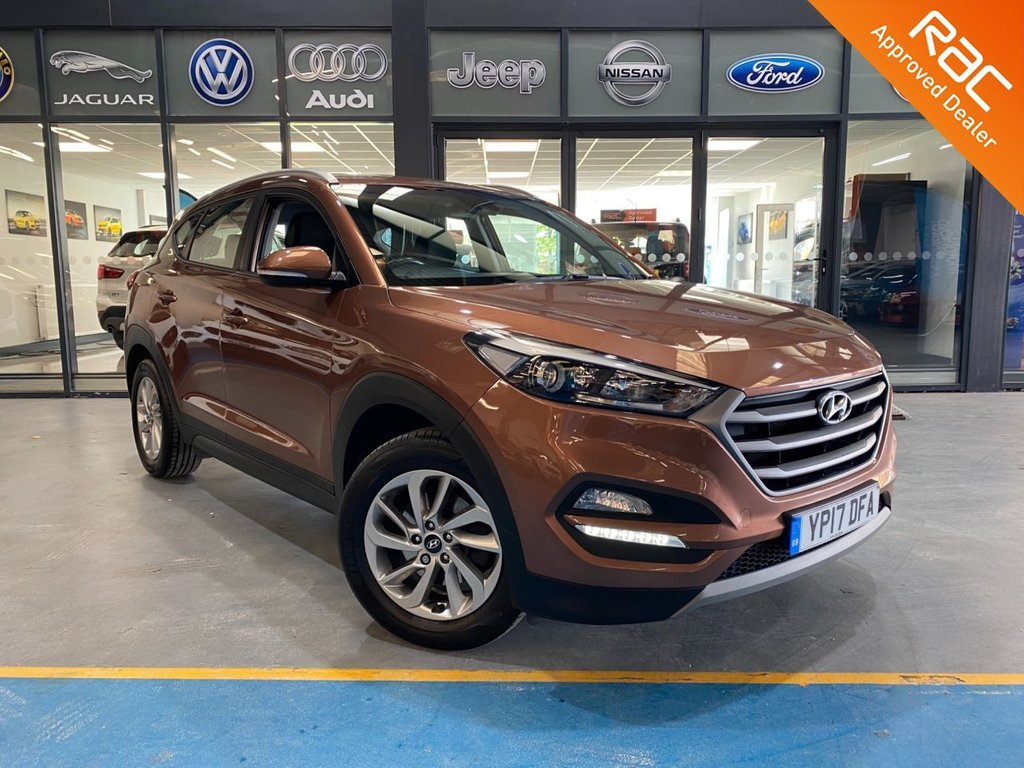 USED 2017 17 HYUNDAI TUCSON 1.7 CRDI SE NAV BLUE DRIVE 5d 114 BHP Complementary 12 Months RAC Warranty and 12 Months RAC Breakdown Cover Also Receive a Full MOT With All Advisory Work Completed, Fresh Engine Service and RAC Multipoint Check Before Collection/Delivery
