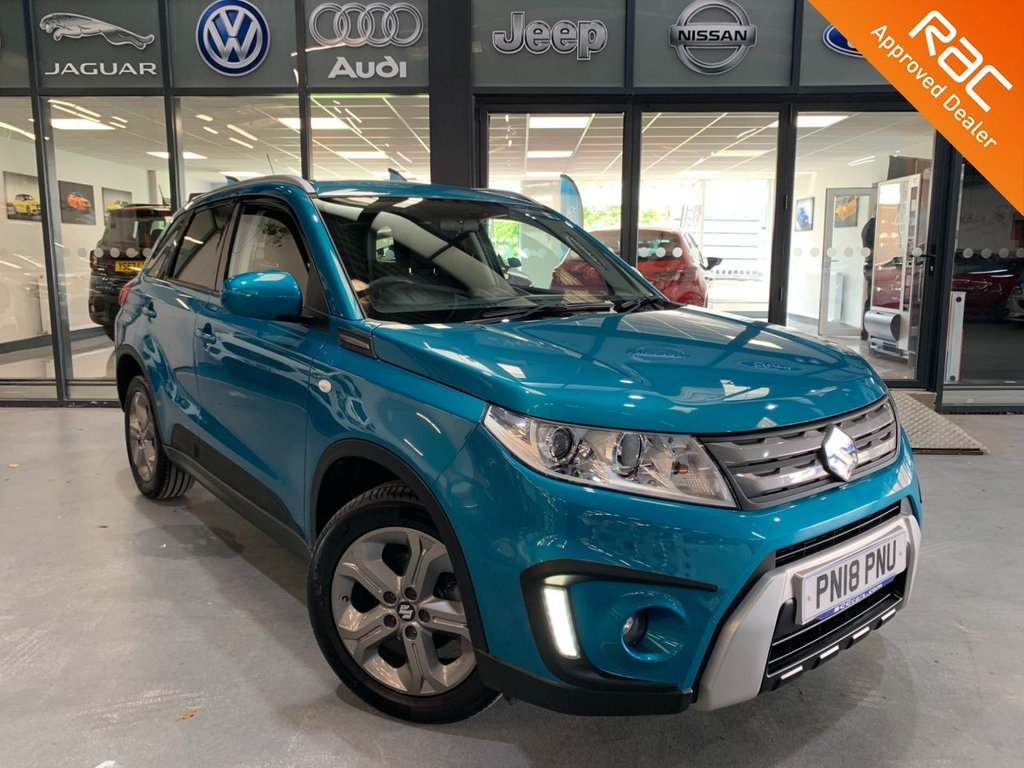 USED 2018 18 SUZUKI VITARA 1.6 SZ-T RUGGED 5d 118 BHP Complementary 12 Months RAC Warranty and 12 Months RAC Breakdown Cover Also Receive a Full MOT With All Advisory Work Completed, Fresh Engine Service and RAC Multipoint Check Before Collection/Delivery