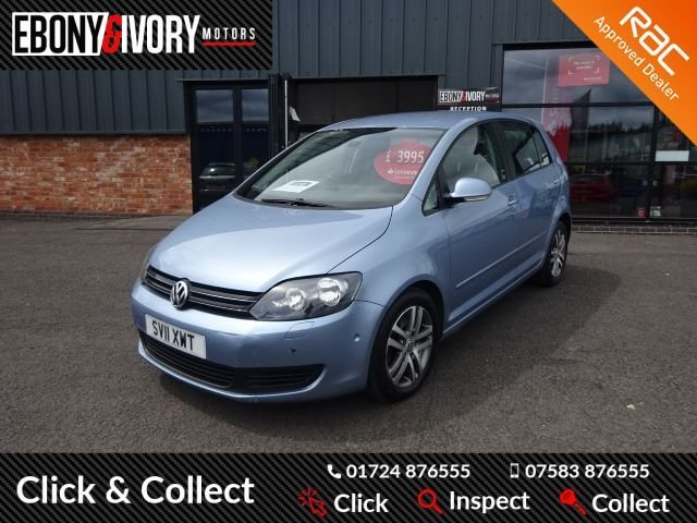 USED 2011 11 VOLKSWAGEN GOLF PLUS 1.6 SE TDI 5d 103 BHP - PX TO CLEAR HENCE LOW PRICE + FULL SERVICE HISTORY + 1 YEAR MOT AND BREAKDOWN COVER