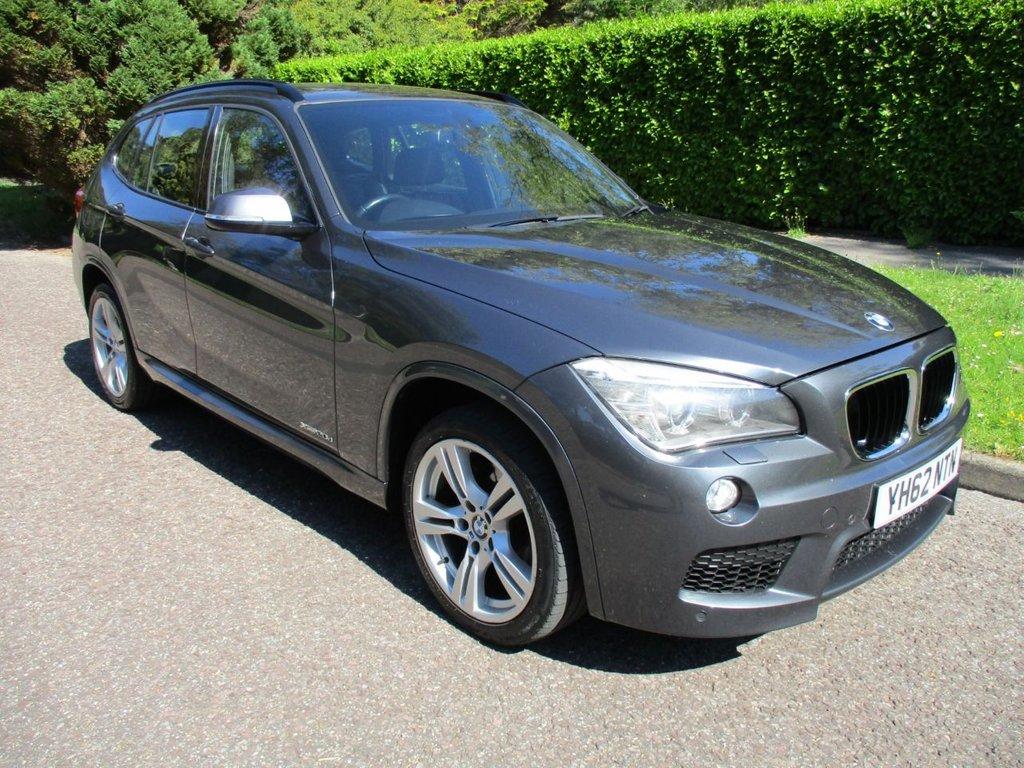 USED 2012 62 BMW X1 2.0 XDRIVE20D M SPORT 5d 181 BHP TOP SPEC..FULL SERVICE HISTORY