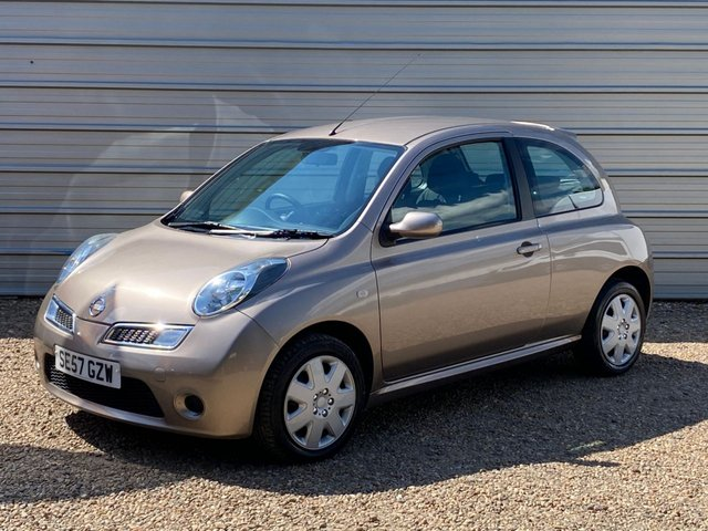 USED 2008 57 NISSAN MICRA 1.2 ACENTA 3d 80 BHP Just 3 pre owners with 39,000m