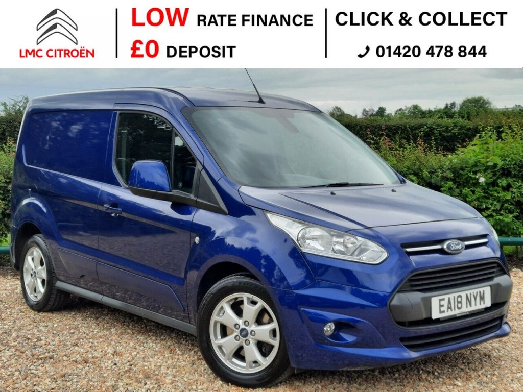 USED 2018 18 FORD TRANSIT CONNECT 1.5 200 LIMITED P/V 118 BHP