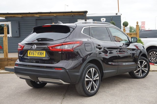 USED 2017 67 NISSAN QASHQAI 1.6 N-CONNECTA DCI 5d 128 BHP GREAT EAXMPLE WITH GRAT SPEC , JUSTT ARRIVED