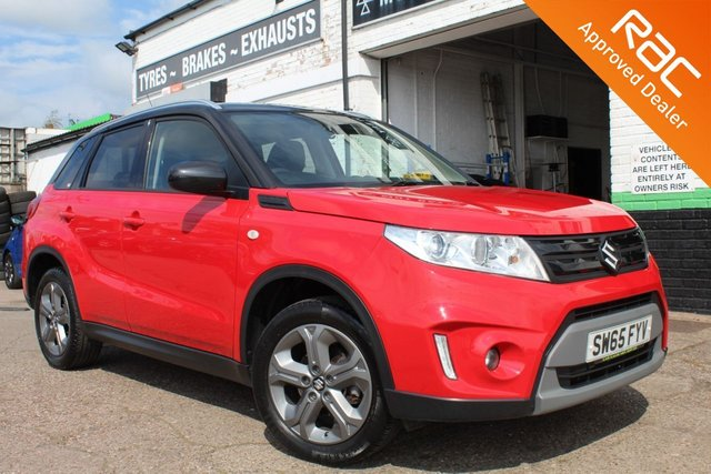 USED 2016 65 SUZUKI VITARA 1.6 SZ-T 5d 118 BHP VIEW AND RESERVE ONLINE OR CALL 01527-853940 FOR MORE INFO.