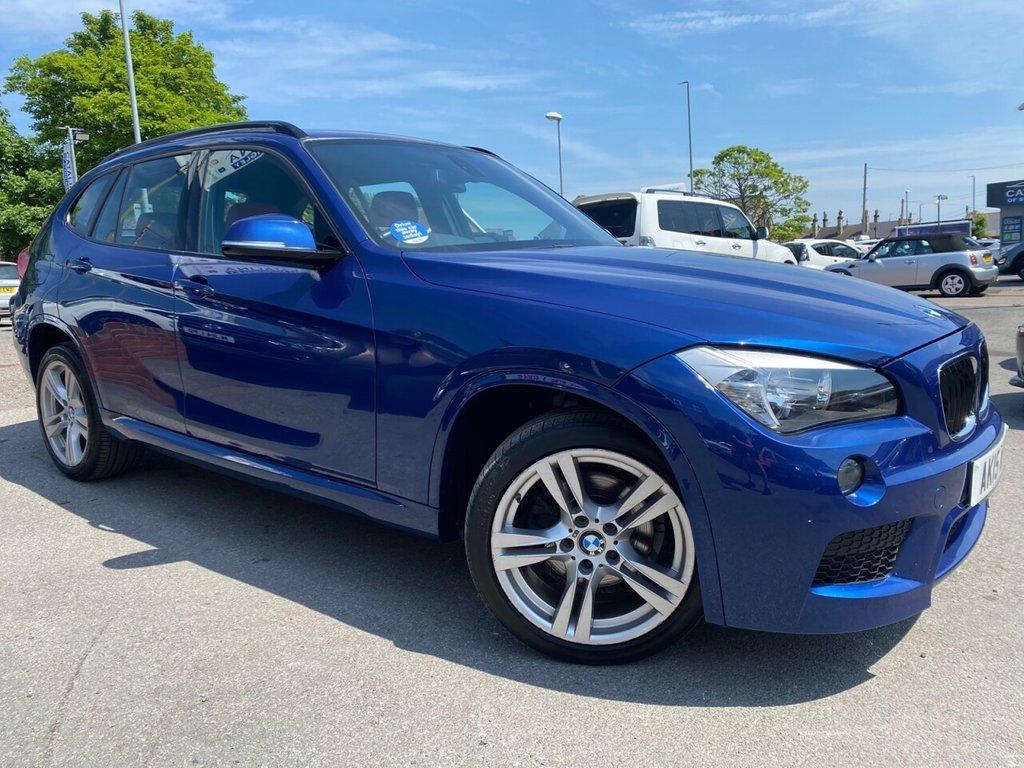USED 2015 15 BMW X1 2.0 SDRIVE18D M SPORT 5d 141 BHP