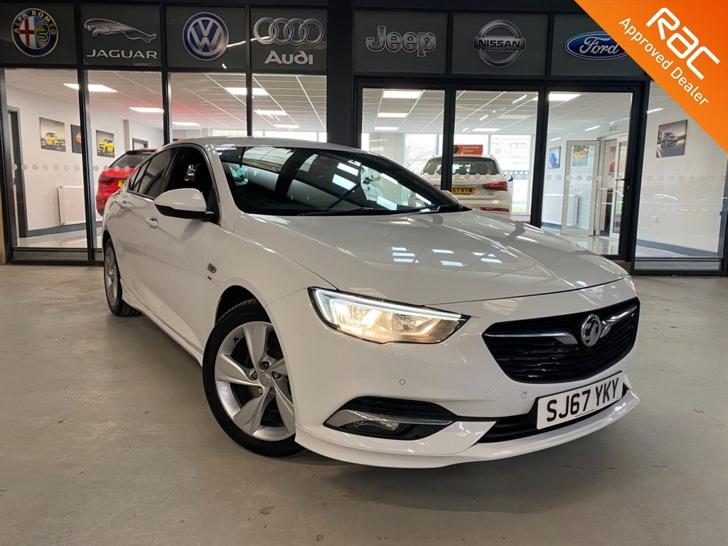USED 2017 67 VAUXHALL INSIGNIA GRAND SPORT 2.0 SRI VX-LINE NAV 5d 168 BHP Complementary 12 Months RAC Warranty and 12 Months RAC Breakdown Cover Also Receive a Full MOT With All Advisory Work Completed, Fresh Engine Service and RAC Multipoint Check Before Collection/Delivery